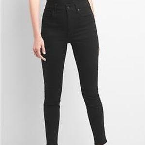 GAP High Waist Skinny Jeans